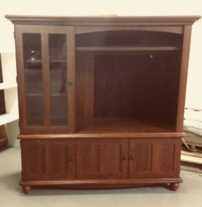PRICE REDUCED!!  -  ENTERTAINMENT CENTRE - WOODEN