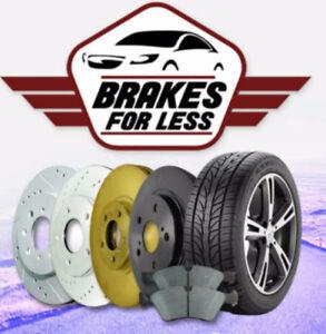 2008 Lexus IS 250 full brake kit front & rear