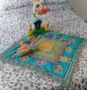 Fisher Price interactive tummy time play mat