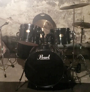 Pearl Target 5pc Set w/cymbals