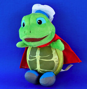 "Wonder Pets TUCK Turtle 9"" Fisher Price Plush Toy"