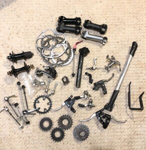 Miscellaneous bike parts - LOTS