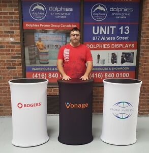 Promo Event Booth COUNTER Stand Pop Up Product Display TABLE
