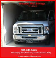 Motorcycle and Car storage available.