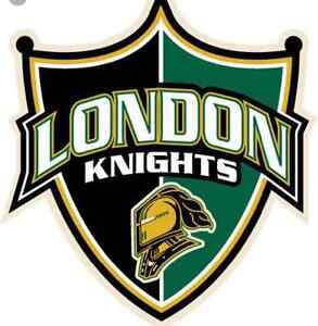 WANTED: 3 or 4 LONDON KNIGHTS TICKETS FOR JAN. 13th!!! London Ontario image 1