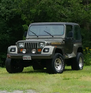 1993 Keep YJ for sale