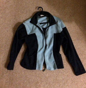 Two-Tone Blue Fleece Jacket