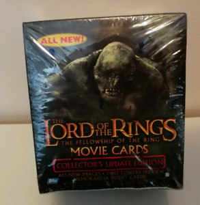 The Lord Of The Rings Fellowship Of The Ring Trading Cards