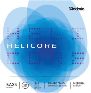 D'Addario Strings - Helicore Hybrid Bass String Set
