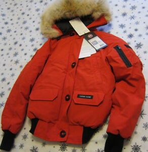 CANADA GOOSE~CHILLIWACK BOMER COAT / JACKET~RED ~BRAND NEW!!