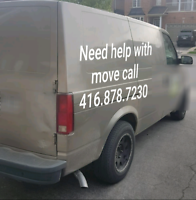 Moving / Delivery for a flat rate, No hidden fee.