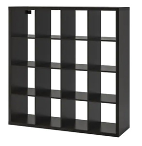 IKEA //  KALLAXShelf unit, black-brown