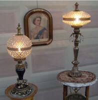 Vintage/antique Ornate Lamps (120 EACH)