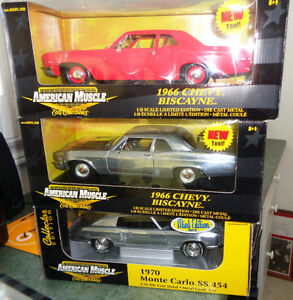 Ertl Mint RC2 Chase Car 70 Monte Carlo SS 454 Chevy 66 Biscayne