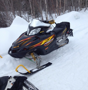 TRADE: looking to trade my sled for a atv