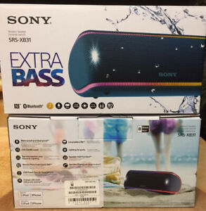 Sony bluetooth XB31 waterproof speaker