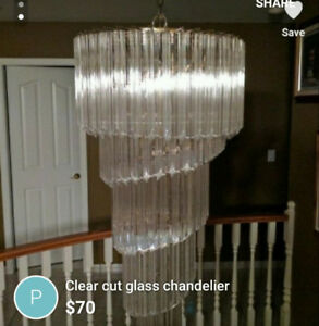 Beautiful set of 3 crystal chandeliers