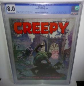 Creepy #7 CGC 8.0 Warren 1966 Frank Frazetta Torres, Morrow, Cra