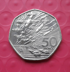 D-Day 50p coin - great condition