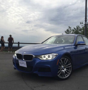 2013 BMW 335i xdrive fully equipped Estoril blue