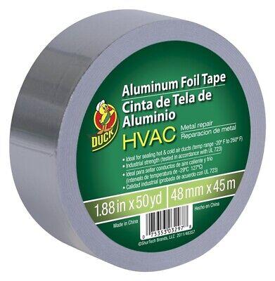 New Duck 240225 Hvac Metal Repair Aluminum Foil Tape 1.88 X 50 Yard 1959105