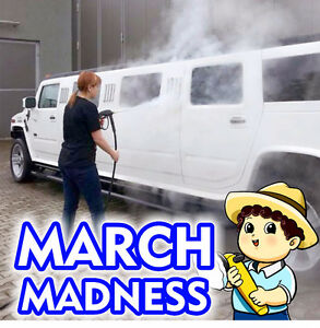 $99 Interior Cleaning Special - March Madness