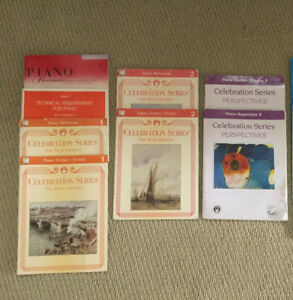 Piano books, from level 1 to level 3, Each level $15/each