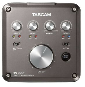 Tascam US-366 192KHz Hi-Res Recording Interface USB