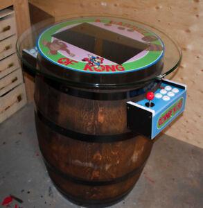 Wine Barrel Arcade Machine **500+ Games with warranty*