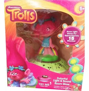 Trolls Poppy Night Light & Sounds Room Glow Storage Box Nightlig