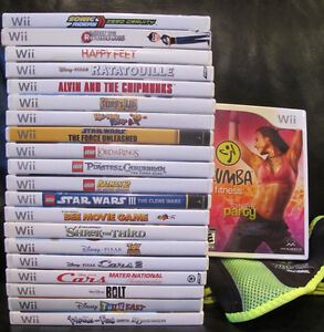 Wii VIDEO GAMES (6 remaining, 15 sold)