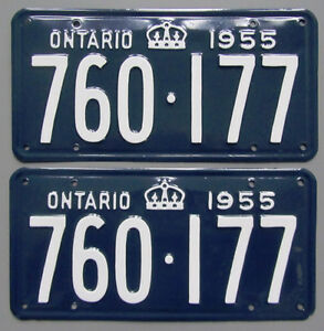 Vintage YOM License Plates - MTO Approval Guaranteed London Ontario image 5