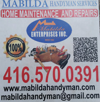 Mabilda handyman services York, Durham GTA 4165700391