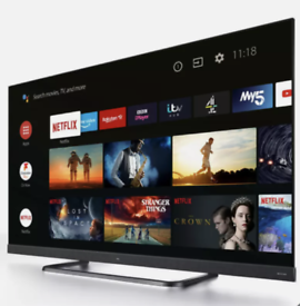 """TCL 55"""" 4K HDR Pro Android Smart TV Dolby Atmos Bluetooth Google Boxed"""