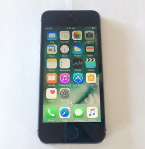 Factory Unlocked Gray Apple iPhone 5S 32GB in NEW Condition