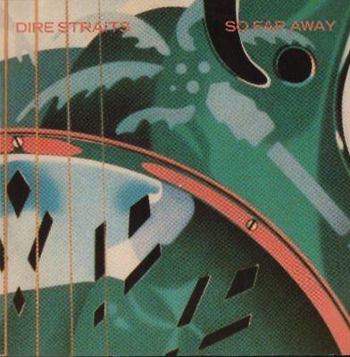 """Dire Straits(10"""" Vinyl)So Far Away-Vertigo-DSTR 910-UK-1985-Ex/Ex+"""