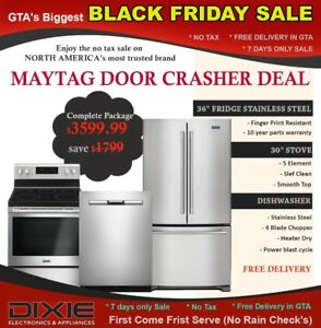 BLACK FRIDAY NO TAX SAMSUNG KITCHEN APPLIANCES SALE