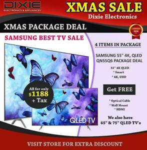 "XMAS SALE LG 65"" 4K SMART LED HDTV PACKAGE DEAL"