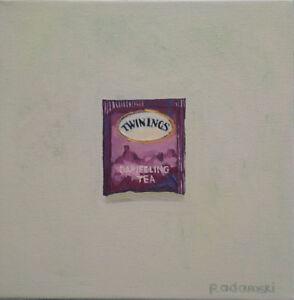 """Oil painting: """"Afternoon Tea/Darjeeling"""" by Paula Adamski"""