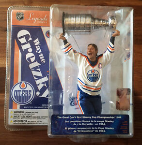 Figurine McFarlane Gretzky, Lemieux, Crosby, McDavid  et plus