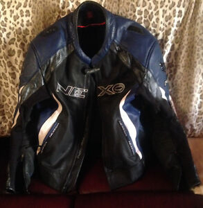 Leather Nexo Motorcycle Jacket XL 44