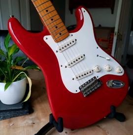 1998 Fender Classic 50s Stratocaster - Rare, Dakota Red! *1st Producti