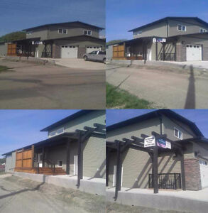 New 1/2 Duplex For Sale