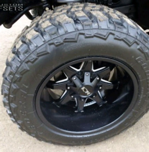 NEW! 20X12 -44 5X139.7 5X127 ION RIMS