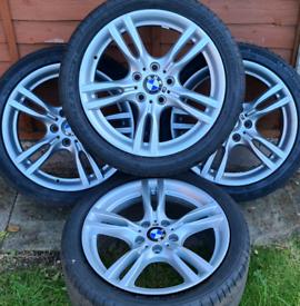 "Bmw 3 Series F30 Msport 18"" alloy wheels - 5 x 120 - Genuine BMW Style"