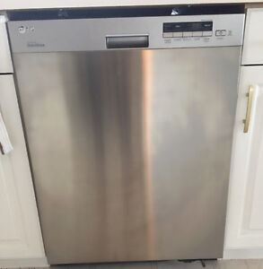 LG Inverter Stainless Dishwasher new condition