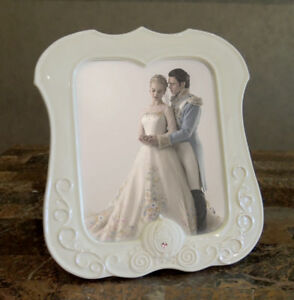Disney Cinderella 8 X 10 Porcelain Romance Photo Frame NEW