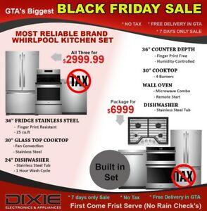 BLACK FRIDAY NO TAX SAMSUNG LG WHIRLPOOL WASHER DRYER