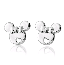 Disney Minnie Mouse Silver Studs