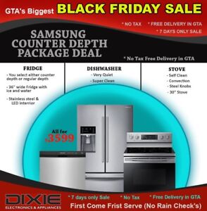 BLACK FRIDAY NOTAX TRUCKLOAD SAMSUNG BUILTIN FAMILYHUB APPLIANCE